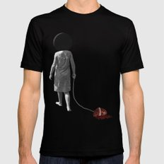 drag SMALL Black Mens Fitted Tee