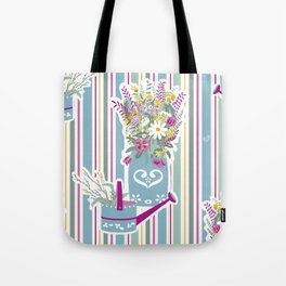 Flower's Arrangement Tote Bag