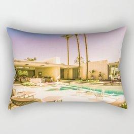 1809 Mid-Century Modern Stanbridge Estate Palm Springs Rectangular Pillow