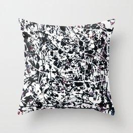Hidden Anger Throw Pillow