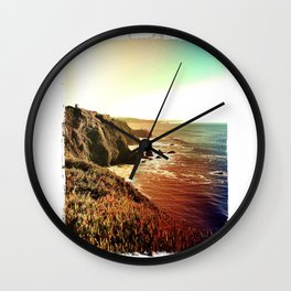 Looking South Wall Clock