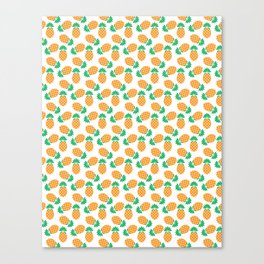 Diamond Pineapple Canvas Print