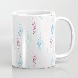 1980s Style Spots and Dots Pattern Coffee Mug