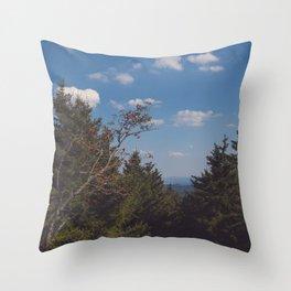 Brocken View Throw Pillow