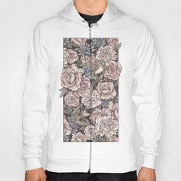 Flowers & Swallows Hoody