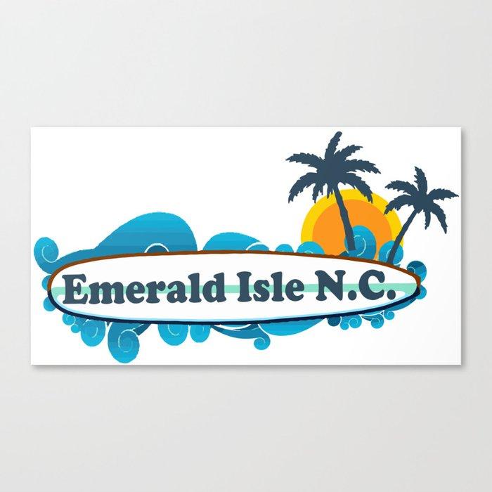 Emerald Isle - North Carolina. Canvas Print