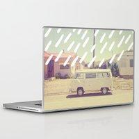 volkswagen Laptop & iPad Skins featuring Volkswagen, New Mexico by Anna Dorfman