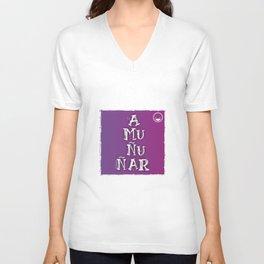 """""""Amuñuñar"""" Unisex V-Neck"""
