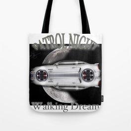 American cars - Legendary White Mustang Tote Bag