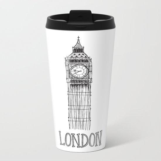 Big Ben Metal Travel Mug