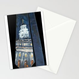 Nauvoo IL LDS Temple Tie Stationery Cards