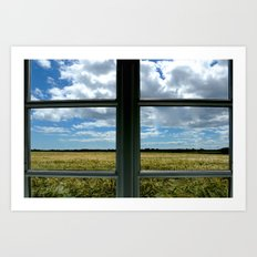 View from a room Art Print