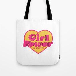 Girl Power Logo Tote Bag