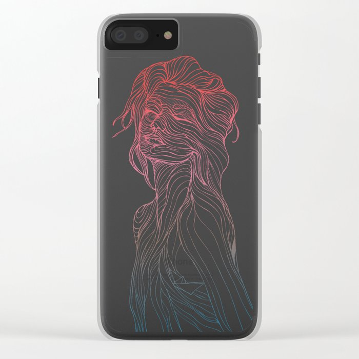 Someplace Beautiful Clear iPhone Case