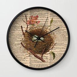 Nest Dictionary Wall Clock