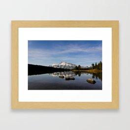 Two Jacks Lake  Framed Art Print