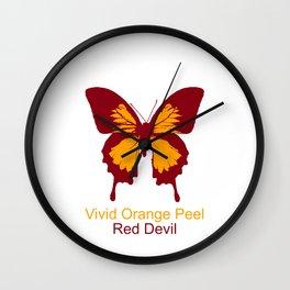 Ulysses Butterfly 2 Wall Clock