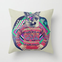 MCVII Throw Pillow