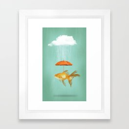 Fish Cover II Framed Art Print