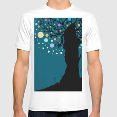 The tree. White Mens Fitted Tee MEDIUM