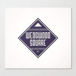 Wedgwood Square Canvas Print