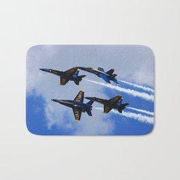 US Navy Blue Angels Bath Mat