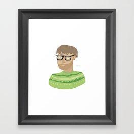 hiphip Framed Art Print