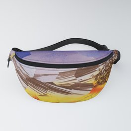 Lavendar Morning with Dove Fanny Pack