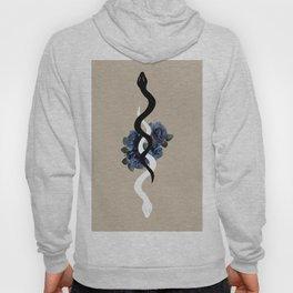 Yin Yang Snake Glam #1 #wall #art #society6 Hoody