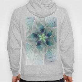 A Floral Fantasy, Abstract Fractal Art Hoody