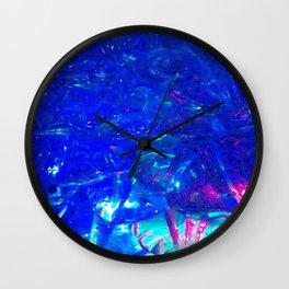 Liquid lights Wall Clock