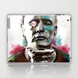 Marlon Brando under brushes effects Laptop & iPad Skin