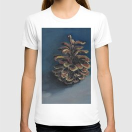 Pine Cone, Oil painting by Luna Smith Art, LuArt Gallery T-shirt