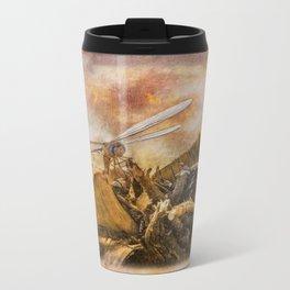 Dragonfly Dreams Metal Travel Mug