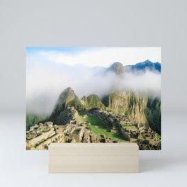 Morning at Machu Picchu Mini Art Print