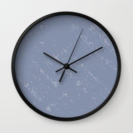 Powdered Blue Wall Clock