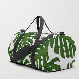 Monstera Leaf II Duffle Bag