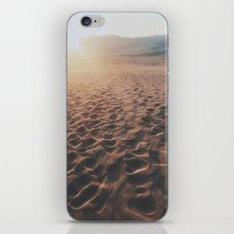 Footprints In The Desert iPhone Skin