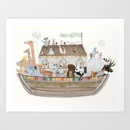 little ark Art Print