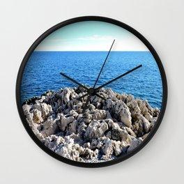 Rocky Sea Wall Clock