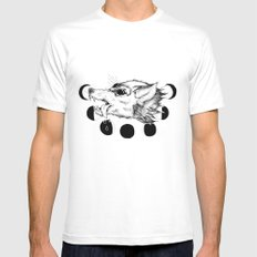 Hellhound Mens Fitted Tee X-LARGE White