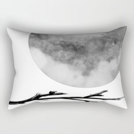 Three Sticks One Circle No.3 Rectangular Pillow