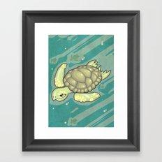 Tortuga! Framed Art Print