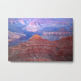 Grand Canyon Evening Plateaus Metal Print