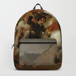 """Francisco Goya """"The Second of May or The Charge of the Mamelukes"""" Backpack"""