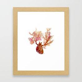 Heart Expansion Framed Art Print