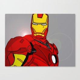 Ironman Print Canvas Print