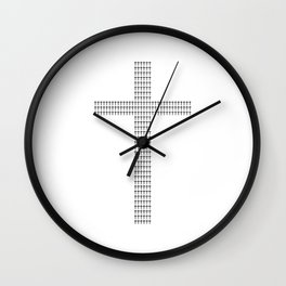 Cross your †s. Wall Clock