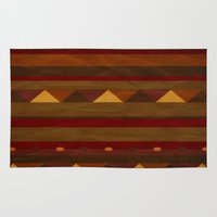 native american Area & Throw Rugs featuring native. by kelmeloo