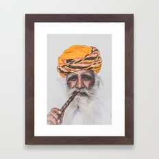 Jodhpur (colour) Framed Art Print